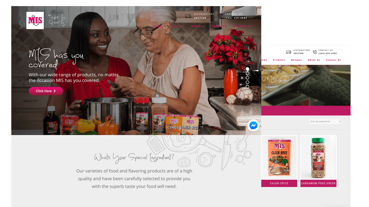Luova Labs E-Commerce Website Development