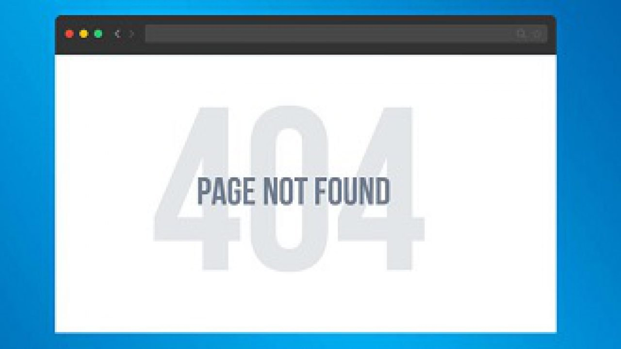 Wordpress 404 Page